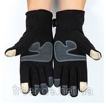 Зимние флисовые сенсорные перчатки, фото 2