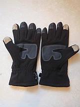 Флисовые сенсорные перчатки, фото 3