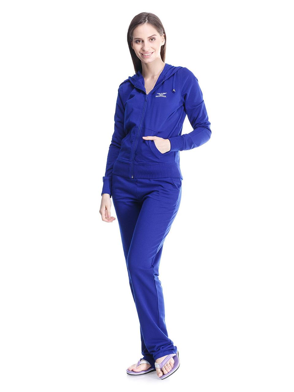 Женский спортивный костюм MONTANA  27512 Royal blue