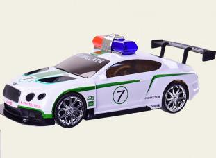 Игрушечная полицейская машина.Детская машинка на батарейках.