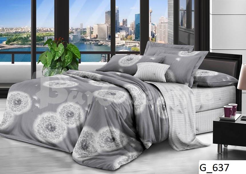 Двуспальное постельное бельё Одуванчик