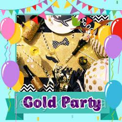Gold Party / Золотая вечеринка (Товары для праздника)