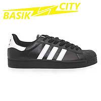Кроссовки мужские Adidas Superstar Черные