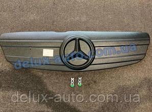 Зимняя накладка глянец на решетку V2 (2010-2015) Mercedes Vito W639 2004-2015 гг.