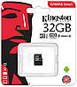 Карта памяти Kingston microSDHC 32GB Canvas Select Class 10 UHS-I U1 (SDCS/32GBSP)