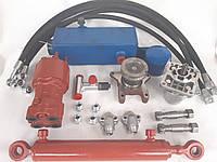Комплект гидравлики для рулевого управления мини-трактор, мотоблок/ переделка под насос дозатор