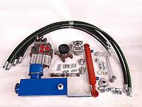 Комплект гидравлики на мотоблок, минитрактор с 2-секционным распределителем