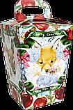Упаковка новорічна Ліхтарик для солодощів 400-500 г, фото 3