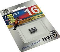 Карта памяти Silicon Power MicroSDHC 16GB Class 10 (SP016GBSTH010V10)