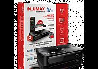 Цифровой ТВ-ресивер T2 Lumax DV2118HD,IPTV, YouTube,MEGOGO