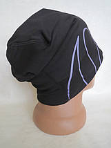 Женская удлинённая шапочка Stadium для бега или вело (XL), фото 3