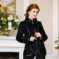 Демисезонная куртка из итальянской шерсти F 734734 Черный