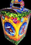 Упаковка новогодняя Ліхтарик для сладостей 400-500 г, фото 7