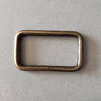 Рамка литая 40 мм антик