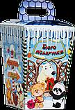 Упаковка новогодняя Ліхтарик для сладостей 400-500 г, фото 8
