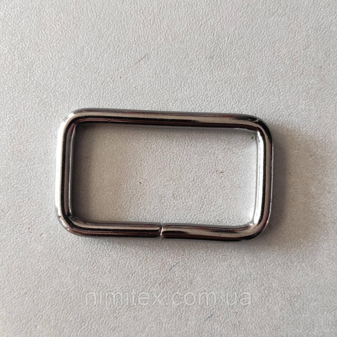 Рамка литая 40 мм черный никель