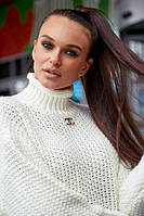 Свитер женский Seventeen прямой свободный (5 цветов, р.S-XL)