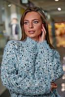 Свитер женский Seventeen с вышивкой (3 цвета, р.S-XXL)