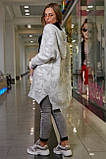 Кардиган жіночий з принтом (2 кольори, р. S-XXL UNI), фото 5