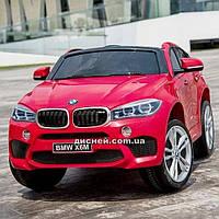 Двухместный детский электромобиль JJ 2168 EBLRS-3, BMW, красный