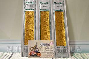 Мулине Madeira Metallic №4, цвет - 4007