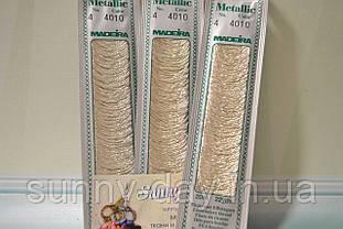 Мулине Madeira Metallic №4, цвет - 4010