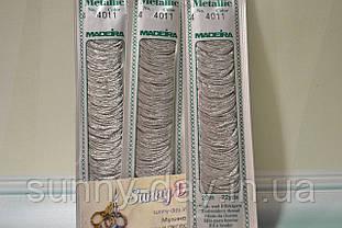 Мулине Madeira Metallic №4, цвет - 4011