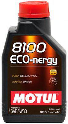 Моторне масло Motul 8100 Eco-nergy 5W30 (1л) АСЕА А5/В5, служба api SL/CF
