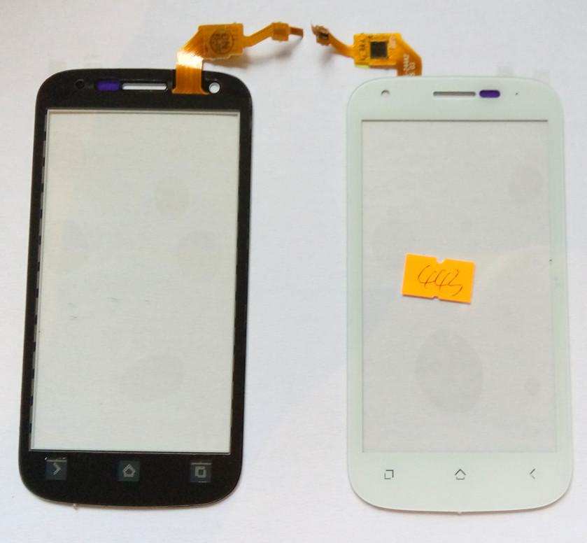 Сенсорний екран для смартфону Fly IQ443, тачскрін білий