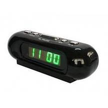 Часы сетевые VST 716-2 зеленые, фото 3