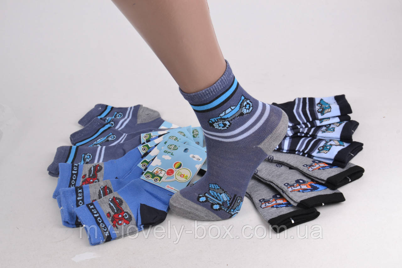 ОПТОМ.Детские носки с рисунком (Арт. C249/26-28) | 12 пар