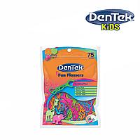 DenTek Детские флоссы с держателями, 75 шт., фото 1