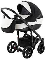 Детская коляска Adamex Prince 2 в 1 X-35 (черная рама), фото 1