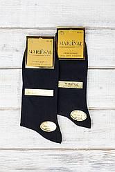 Чоловічі шкарпетки Marjinal антибактеріальні дезодеровані однотонні розмір 40-45 6 шт в уп