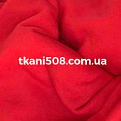 Ткань 3-х нитка ( на флисе) КРАСНЫЙ (Китай)
