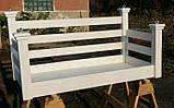 Подвесная кровать-качеля на балкон, фото 5
