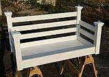 Подвесная кровать-качеля на балкон, фото 6