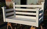 Подвесная кровать-качеля на балкон, фото 7