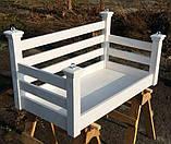 Подвесная кровать-качеля на балкон, фото 8