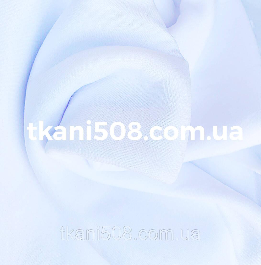 Тканина 3-х нитка футер(на флісі) Білий