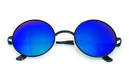 Очки солнцезащитные (SG-006) синий хамелеон, оправа цвет черный