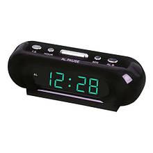 Часы сетевые VST 716-4 салатовые