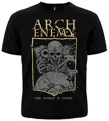 """Футболка Arch Enemy """"The World Is Yours"""", Размер S"""