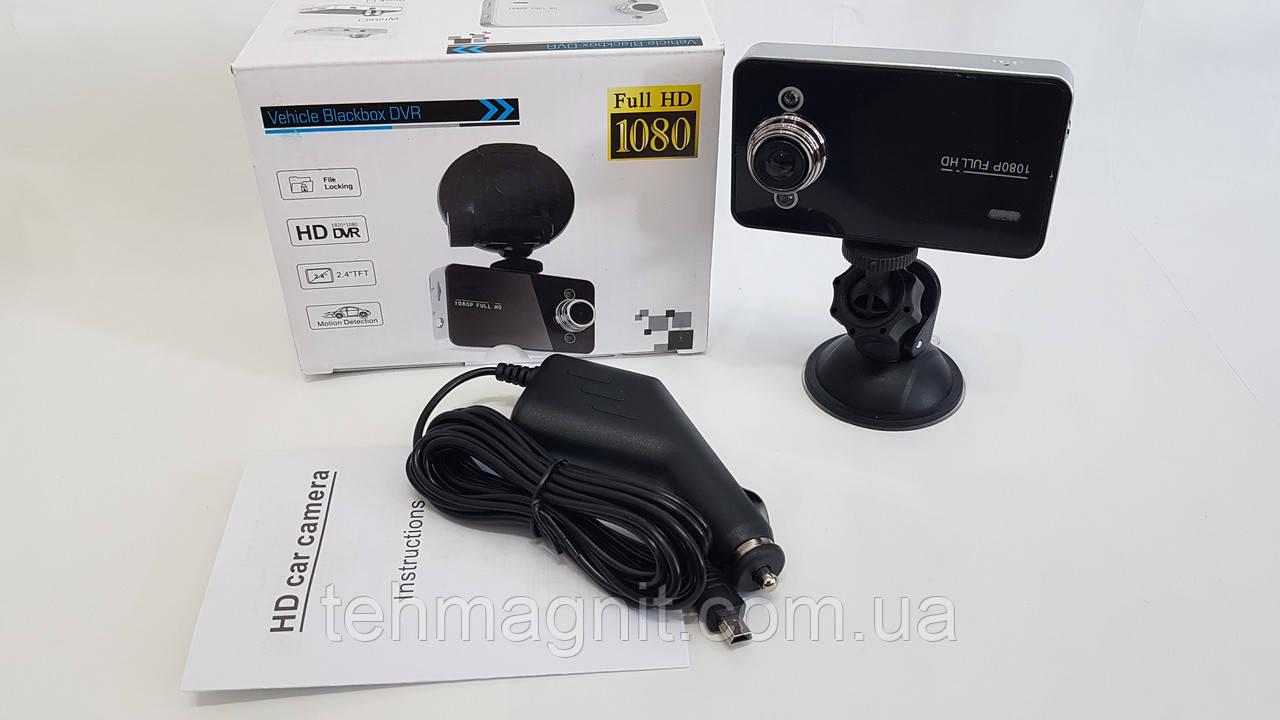 Автомобільний відеореєстратор Vehicle Blackbox DVR Full HD 1080