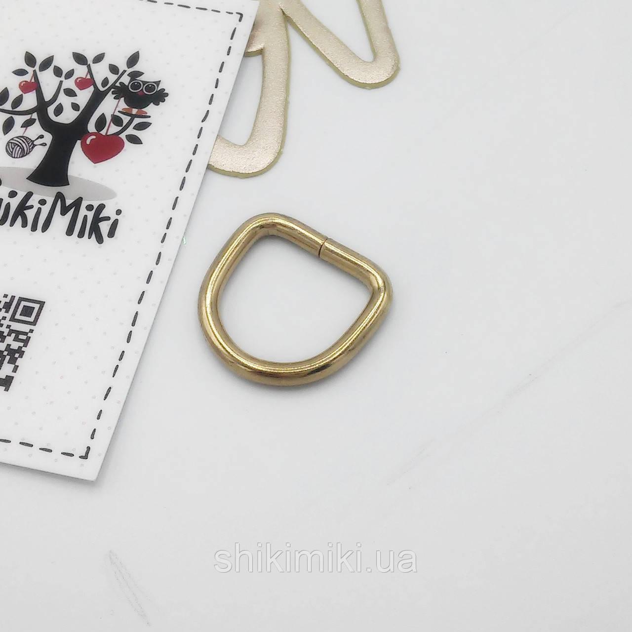 Полукольцо для сумки PK08-3 (20 мм), цвет золото