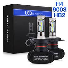 Светодиодные лампы ксенон S1 LED HEADLIGHT H4 Xenon (ближний/дальний)