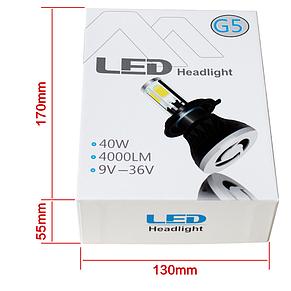 Светодиодные лампы для автомобиля Led Xenon Ксенон G5 led headlight-H4, фото 2