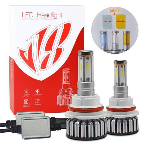 Светодиодные лампы для автомобиля Led Xenon Ксенон V18 Car led headlight-H1, фото 2