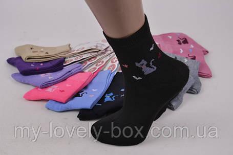 "ОПТОМ.Детские носки на девочку ""КОРОНА"" ХЛОПОК (C3135/30-34)   12 пар, фото 2"