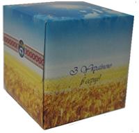"""Салфетки """"АЗВ-Киев"""" в коробке. Национальная символика"""